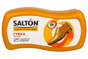 Губка для обуви с гладкой кожи бесцветная Эффект на весь день Salton 1 шт