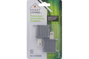 Smart Living Polarized Grounding Adapter