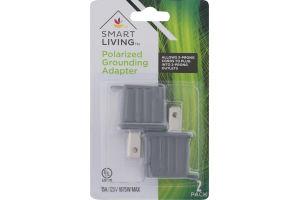 Smart Living Polarized Grounding Adapter