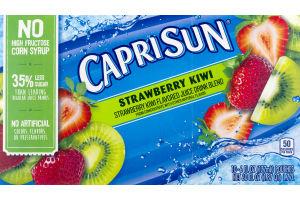 Capri Sun Juice Drink Strawberry Kiwi - 10 CT