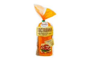 Тостовий пшенично - житній хліб РЗ 0,350 г