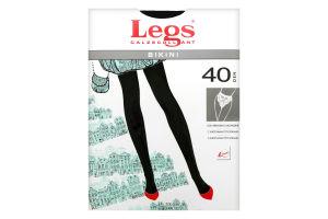 Legs колготки жіночі 261 BIKINI 40 den, nero 3