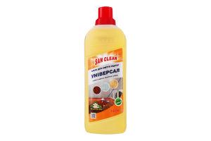 Средство для мытья полов с ароматом бергамота Универсал 2000 San Clean 1000г