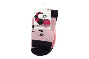 ИНТУИЦИЯ шкарпетки жіночі р.23-25 260 світло-рожевий