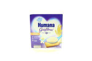 Пудинг Humana манний з печивом 3,3% 400г х6