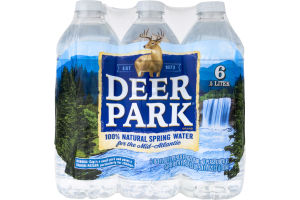 Deer Park Natural Spring Water - 6 PK