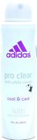 Adidas дез-спрей жін.Pro Clear антиперспирант 150мл