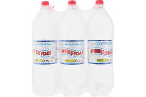 Вода минеральная природная столовая негазированная Кривоозерська п/бут 2л