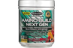 Muscletech Amino Build Next Gen Fruit Punch