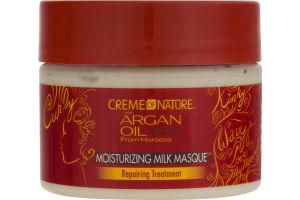 Creme of Nature Argan Oil Moisturizing Milk Masque Repairing Treatment