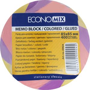 Бумага для заметок Economix цветная 400л