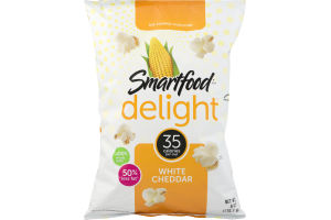 Smartfood Delight Air Popped Popcorn White Cheddar