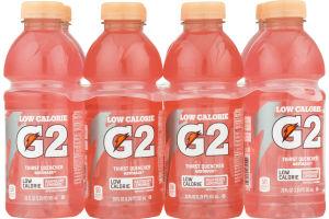 Gatorade G2 Low Calorie Thirst Quencher Raspberry Lemonade - 8 PK