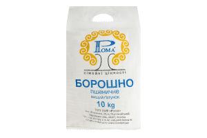 Мука пшеничная Рома м/у 10кг