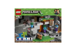 Конструктор для детей 7-14лет №21141 Minecraft Lego 1шт