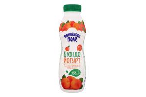 Бифидойогурт 1.5% витаминизированный Абрикос Волошкове поле п/бут 350г