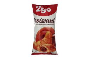 Круассан с карамельной начинкой 2go м/у 60г