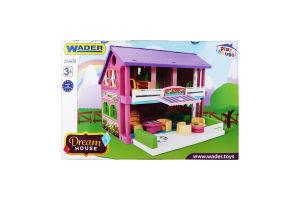 Набір іграшок для дітей від 3років №25400 Dream house Wader 1шт
