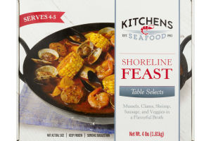 Kitchens Seafood Table Selects Shoreline Feast