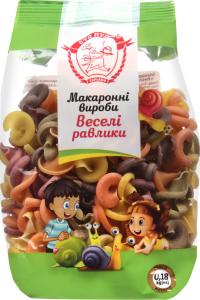 Изделия макаронные Сто пудов Веселые улитки