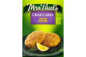 Mrs. Paul's Crab Cakes - 4 CT