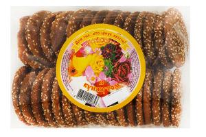 Печиво Ржищів Вівсяне з кунжутом 500г