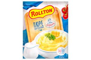 Пюре картофельное со вкусом сливок Роллтон м/у 40г