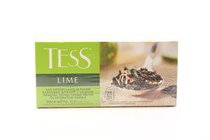 Чай зеленый с цедрой лимона и лепестками цветов Lime Tess к/у 25х1.5г
