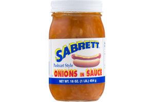 Sabrett Onions In Sauce