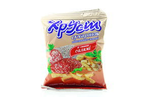 Сухарики пшенично-ржаные со вкусом салями Хруст м/у 35г