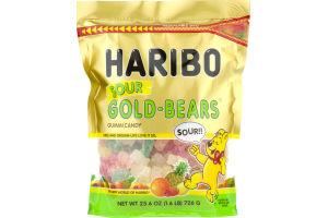 Haribo Gold-Bears Gummi Candy Sour