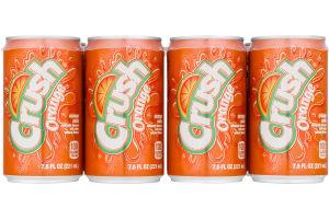 Crush Orange Soda - 8 PK