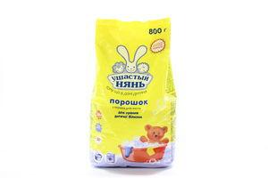 Порошок стиральный детский Ушастый нянь Невская косметика 800г