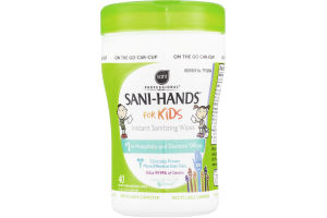Sani Professional Sani-Hands for Kids Instant Sanitizing Wipes - 40 CT