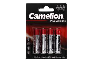 Батарейки АА 1.5V LR6-BP4 Plus Alkaline Camelion 4шт