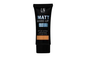 Тональный крем Matt Make-Up №04 LN Professional 30мл
