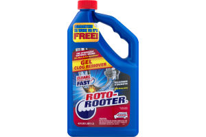 Roto-Rooter Gel Clog Remover Maximum Strength