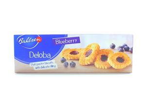 Печенье Deloba с черничной начинкой Bahlsen к/у 100г