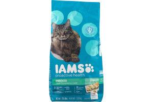 Iams Proactive Health Indoor Cat Food Weight & Hairball Care Chicken Flavor