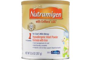 Nutramigen With Enflora LGG Hypoallergenic Infant Powder Formula With Iron 1