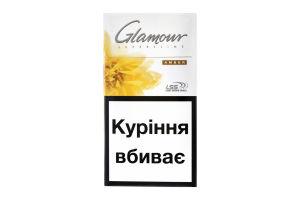 Цигарки Glamour Super Slims Amber 20шт
