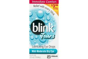 Blink Tears Lubricating Eye Drops Mild-Moderate Dry Eye