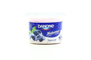 Йогурт 1.5% Черника Живинка ст 115г