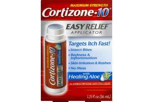 Cortizone-10 Easy Relief Applicator Anti-Itch Liquid With Aloe