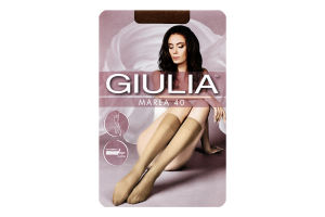 Гольфи жіночі Giulia Marea 40den 23-25 caramel 2пари