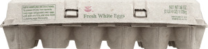 Ahold Fresh White Eggs Grade A Large - 18 CT