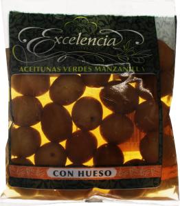 Оливки Excelencia з/к 180г х16