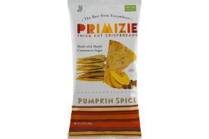 Primizie Thick Cut Crispbreads Pumpkin Spice