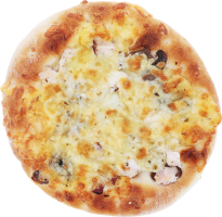 Піцетта швидкозаморожена з куркою та ананасами Хлібна мрія м/у 110г