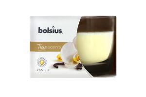 Свічка в склі 63/90 Vanille Bolsius 1шт